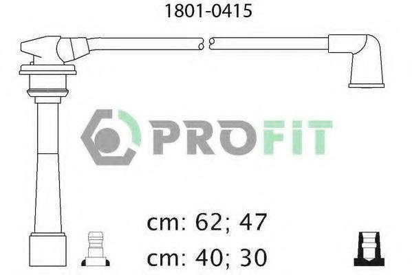 Провода высоковольтные комплект PROFIT 18010415