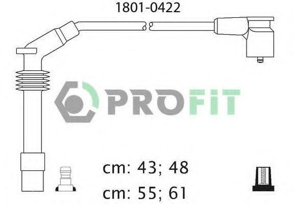 Провода высоковольтные комплект PROFIT 18010422