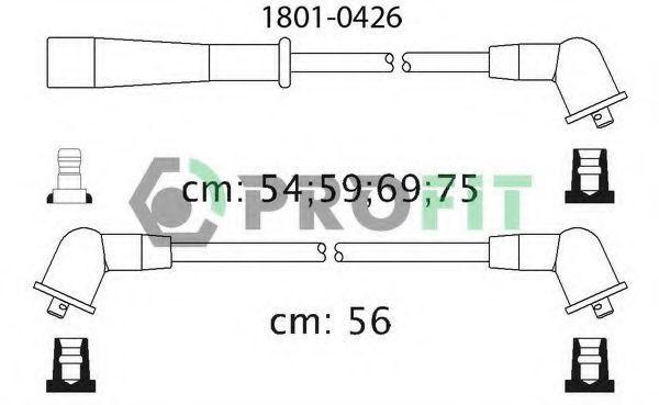 Провода высоковольтные комплект PROFIT 18010426