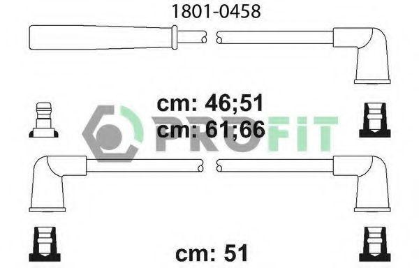 Провода высоковольтные комплект PROFIT 18010458