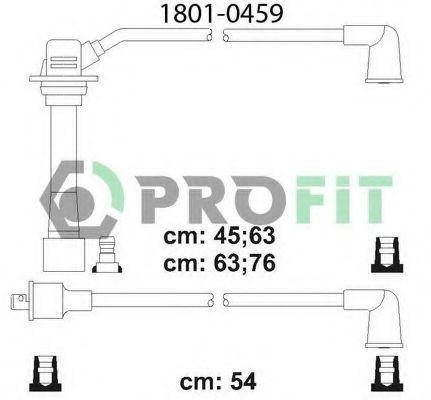 Провода высоковольтные комплект PROFIT 18010459