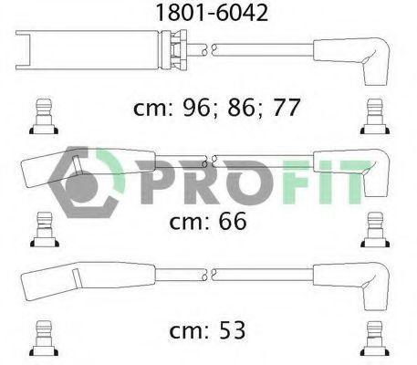 Провода высоковольтные комплект PROFIT 18016042