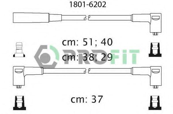 Провода высоковольтные комплект PROFIT 18016202