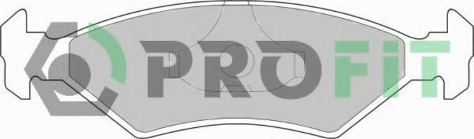 Колодки тормозные PROFIT 50000206