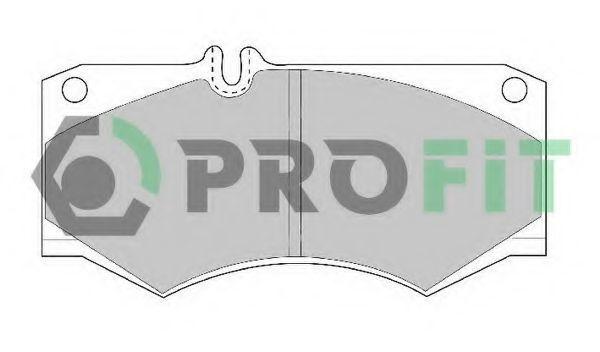 Колодки тормозные PROFIT 50000239