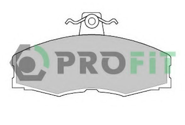 Колодки тормозные PROFIT 50000275