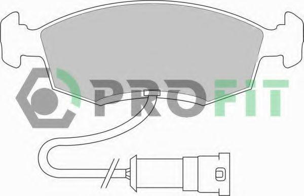 Колодки тормозные PROFIT 50000276