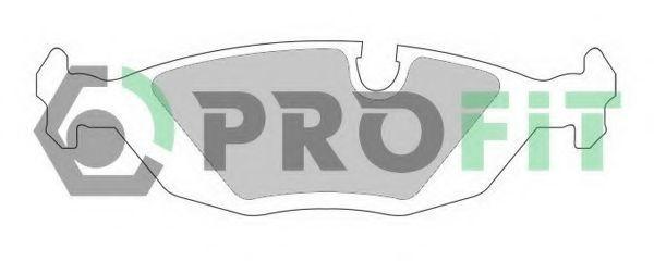 Колодки тормозные PROFIT 50000296