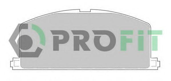 Колодки тормозные PROFIT 50000308