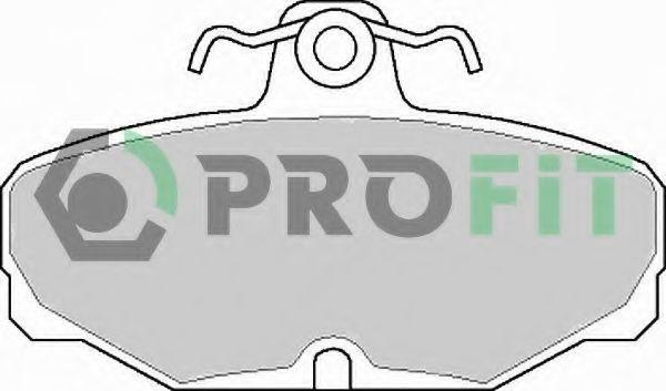 Колодки тормозные PROFIT 50000398