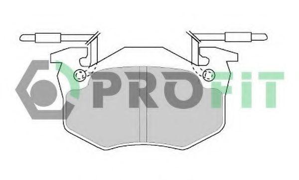Колодки тормозные PROFIT 50000428