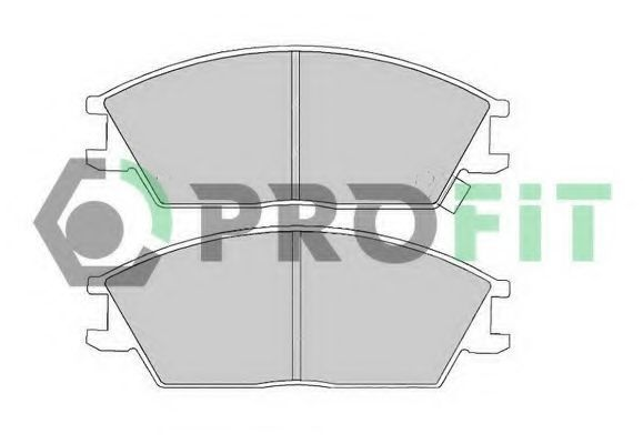 Колодки тормозные PROFIT 50000435