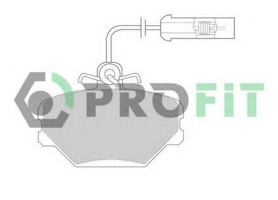 Колодки тормозные PROFIT 5000-0524