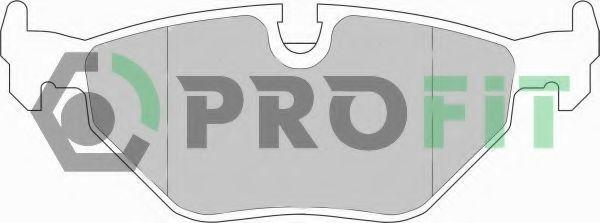 Колодки тормозные PROFIT 50000578