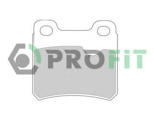 Колодки тормозные PROFIT 5000-0586