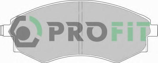 Колодки тормозные PROFIT 50000600