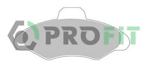 Колодки тормозные PROFIT 50000617