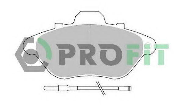 Колодки тормозные PROFIT 50000623