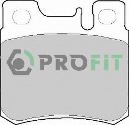 Колодки тормозные PROFIT 50000644