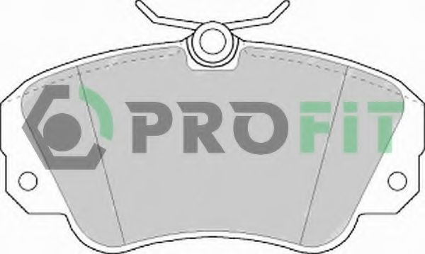 Колодки тормозные PROFIT 50000686