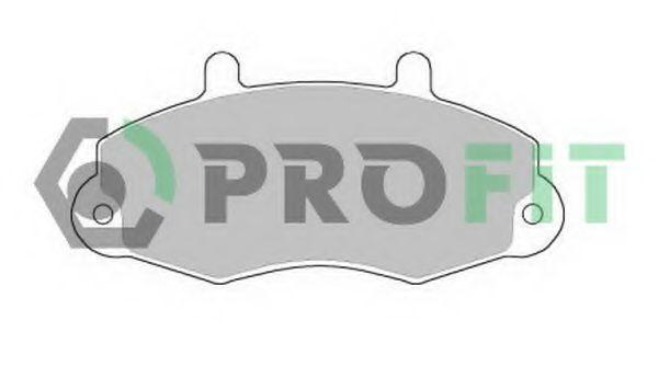 Купить Колодки тормозные PROFIT 50000700
