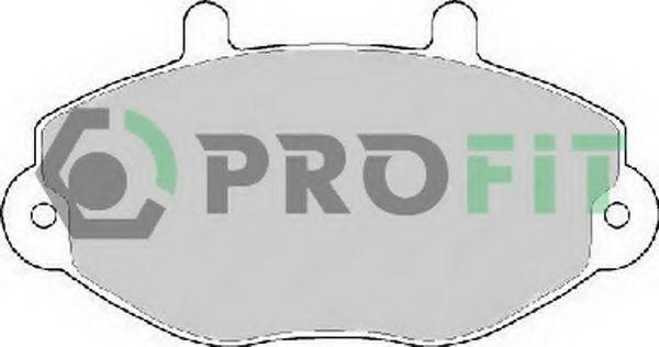 Колодки тормозные PROFIT 5000-0701
