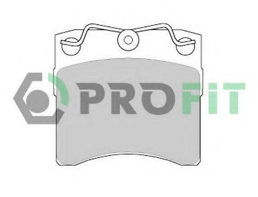 Колодки тормозные PROFIT 50000722