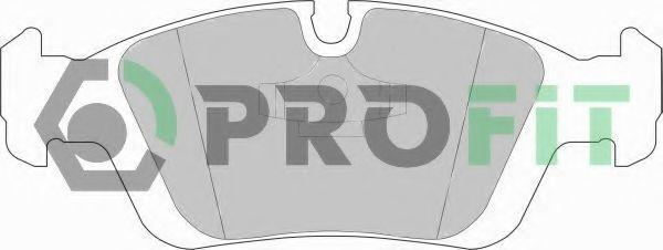 Колодки тормозные PROFIT 50000725