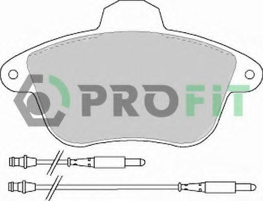 Колодки тормозные PROFIT 5000-0746