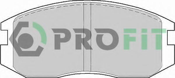 Колодки тормозные PROFIT 50000759