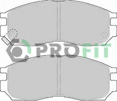 Колодки тормозные PROFIT 50000764