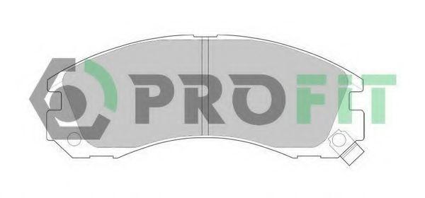 Колодки тормозные PROFIT 5000-0765