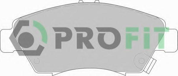 Купить Колодки тормозные PROFIT 50000776