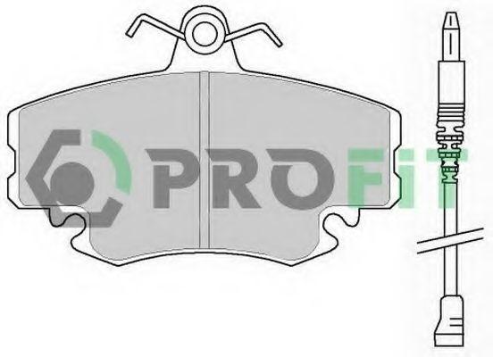 Колодки тормозные керамика PROFIT 50000845C