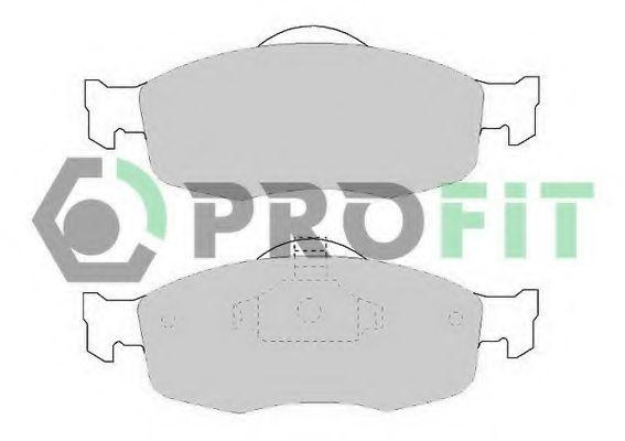 Колодки тормозные PROFIT 50000884
