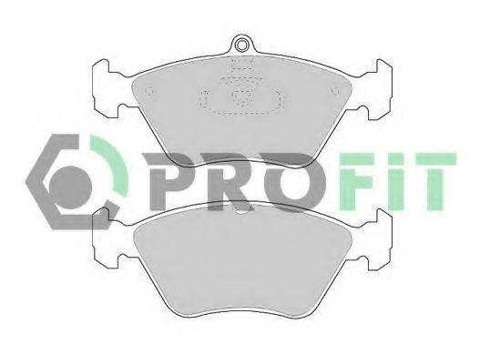 Колодки тормозные керамика PROFIT 50000901C
