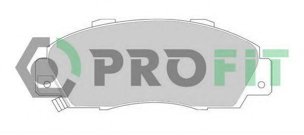 Колодки тормозные PROFIT 50000905