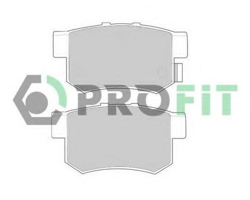 Колодки тормозные PROFIT 50000956
