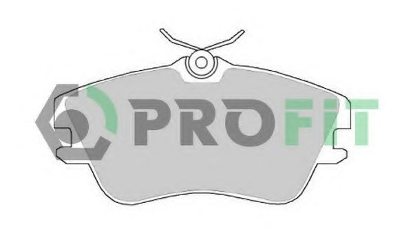 Колодки тормозные PROFIT 50000970