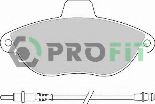 Колодки тормозные PROFIT 50001002