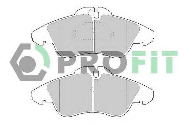 Колодки тормозные керамика PROFIT 50001038C