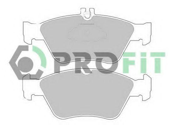 Колодки тормозные PROFIT 50001049