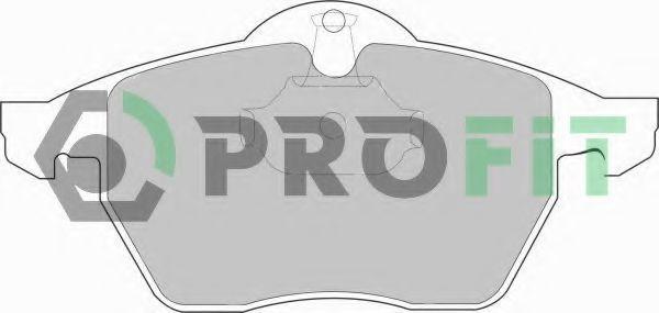 Колодки тормозные PROFIT 50001068