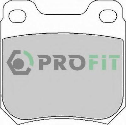 Колодки тормозные PROFIT 50001117