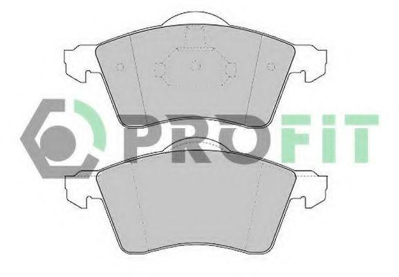 Колодки тормозные керамика PROFIT 50001163C
