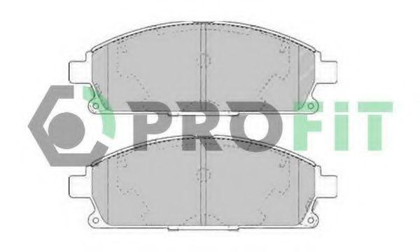 Колодки тормозные PROFIT 5000-1263