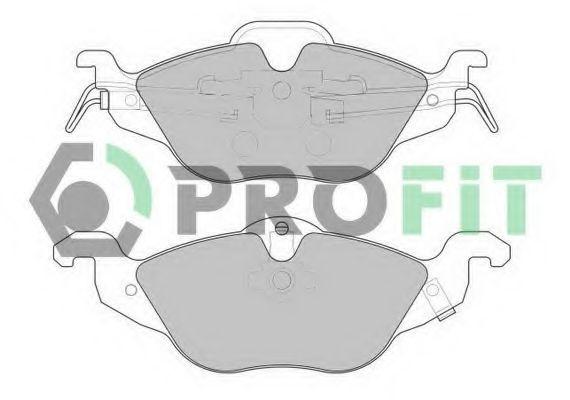 Купить Колодки тормозные PROFIT 50001293