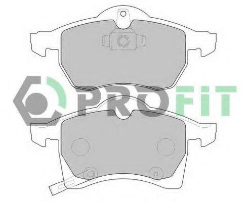 Колодки тормозные PROFIT 50001295