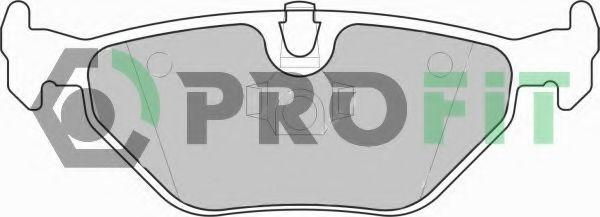Колодки тормозные PROFIT 50001301