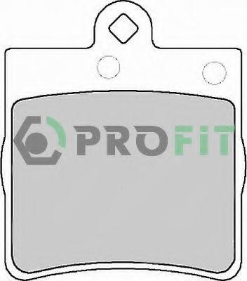 Колодки тормозные PROFIT 50001311